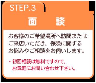 STEP.3 面  談